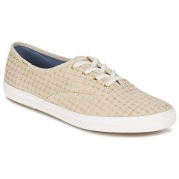 Scarpe donna Keds  CHAMPION FOIL TICKING DOT  Beige Keds 677338611361