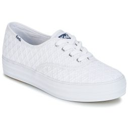 Scarpe donna Keds  TRIPLE EMBROIDERED TRIANGLE  Bianco Keds 884401612853