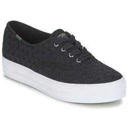 Scarpe donna Keds  TRIPLE EMBROIDERED TRIANGLE  Nero Keds 884401613096