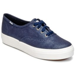 Scarpe donna Keds  TRIPLE METALLIC CANVAS  Blu Keds 646881242391