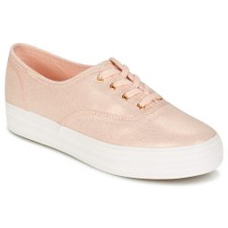 Scarpe donna Keds  TRIPLE METALLIC CANVAS  Rosa Keds 677338625702