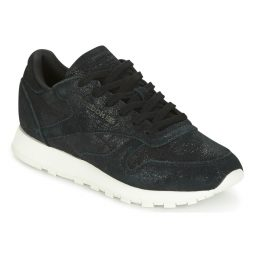 Scarpe donna Reebok Classic  CLASSIC LEATHER SHIMMER  Nero Reebok Classic 4059805356504