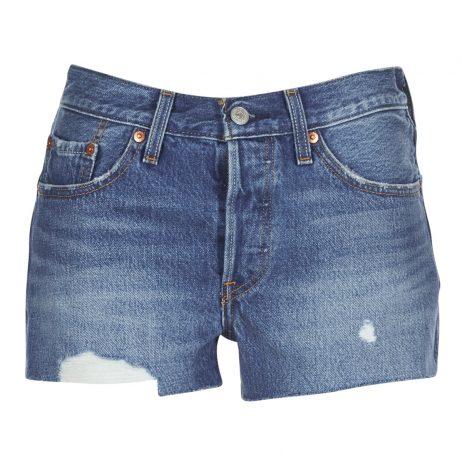 Shorts donna Levis  501® SHORT  Blu Levis 5400537586230