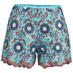 Shorts donna Manoush  FRESQUE  Blu Manoush 3700374295305
