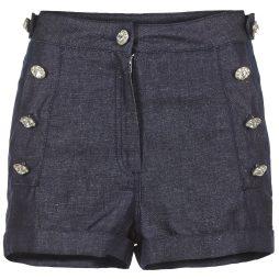 Shorts donna Manoush  JEAN  Blu Manoush 3700374307282