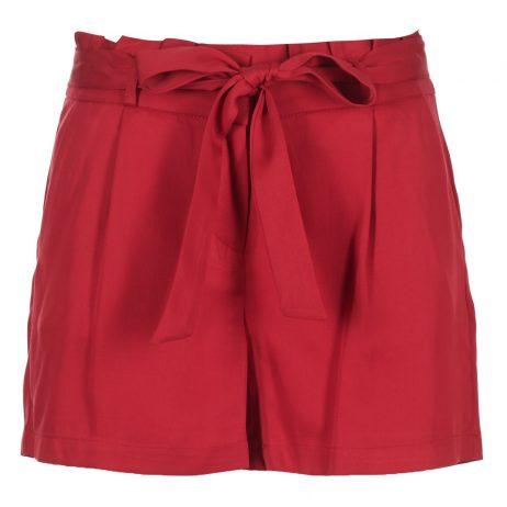 Shorts donna Naf Naf  ERAPER SH1  Rosso Naf Naf 3606846311682