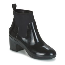 Stivaletti donna Hunter  REFINED MID HEEL CHELSEA  Nero Hunter 5054916286411