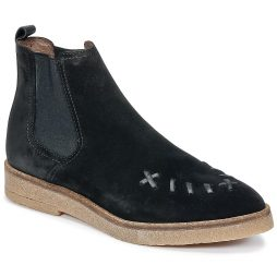 Stivaletti donna Ikks  SADDLED CREEPERS  Nero Ikks 3605431556071