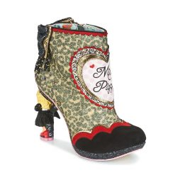 Stivaletti donna Irregular Choice  FIERCE PIGGY  Nero Irregular Choice 5052224449641