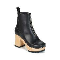 Stivaletti donna Swedish hasbeens  GRUNGE BOOT BLACK  Nero Swedish hasbeens 7340014504334