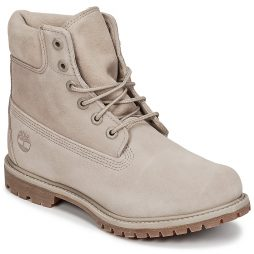 Stivaletti donna Timberland  6IN PREMIUM SUEDE WP BOOT  Beige Timberland 191479289161