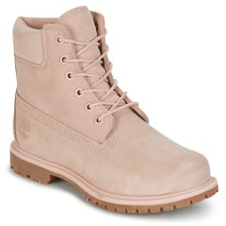 Stivaletti donna Timberland  6IN PREMIUM SUEDE WP BOOT  Rosa Timberland 191479276864