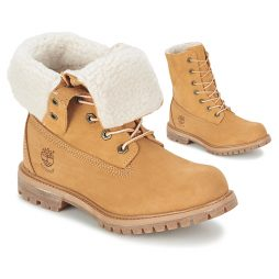 Stivaletti donna Timberland  AUTHENTICS TEDDY FLEECE WP FOLD DOWN  Beige Timberland 887235757080