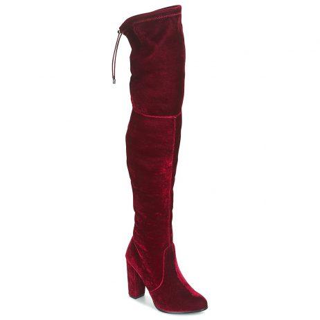 Stivali a metà coscia donna Buffalo  -  Rosso Buffalo 4057324619926