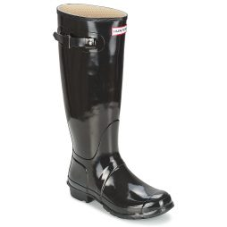 Stivali donna Hunter  WOMEN'S ORIGINAL TALL GLOSS  Nero Hunter 5013441353234