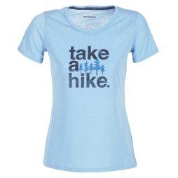 T-shirt donna Columbia  OUTDOOR ELEMENTS TEE  Blu Columbia 190893304382