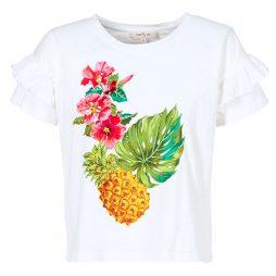 T-shirt donna Derhy  BABY  Bianco Derhy 3613331690566