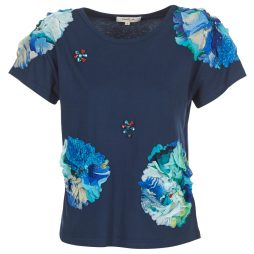 T-shirt donna Derhy  BANGKOK  Blu Derhy 3613331718260