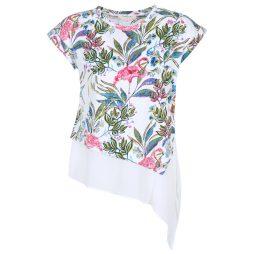 T-shirt donna Derhy  BEBOP  Bianco Derhy 3613331721178