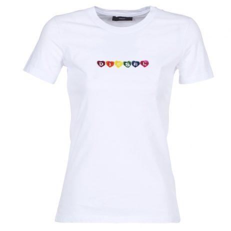 T-shirt donna Diesel  T SILY G  Bianco Diesel 8055192238924