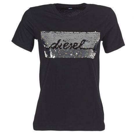 T-shirt donna Diesel  T SILY I  Nero Diesel 8055192280855