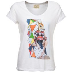T-shirt donna Eleven Paris  ABICHE  Bianco Eleven Paris 3607891980731