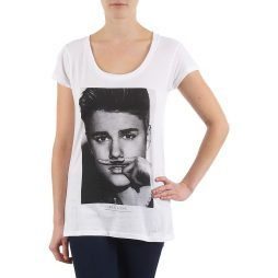 T-shirt donna Eleven Paris  BIEBER W WOMEN  Bianco Eleven Paris 3607891211514