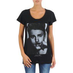 T-shirt donna Eleven Paris  BIEBER W WOMEN  Nero Eleven Paris 3607891211583
