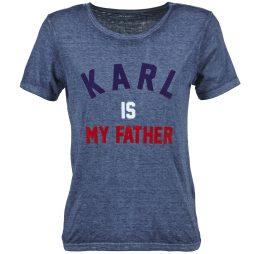 T-shirt donna Eleven Paris  FAMY  Blu Eleven Paris 3607892504448
