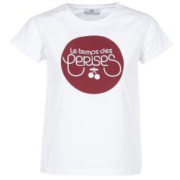 T-shirt donna Le Temps des Cerises  FREDLOGO  Bianco Le Temps des Cerises 3607813487553