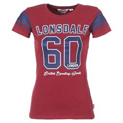 T-shirt donna Lonsdale  SHARDLOW  Rosso Lonsdale 4250819192441