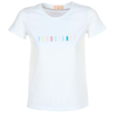 T-shirt donna Moony Mood  ILAMI  Bianco Moony Mood