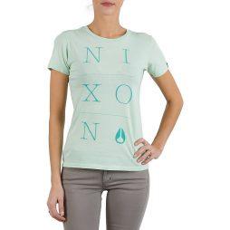 T-shirt donna Nixon  WINDSOR TEE W  Verde Nixon 3608700068862