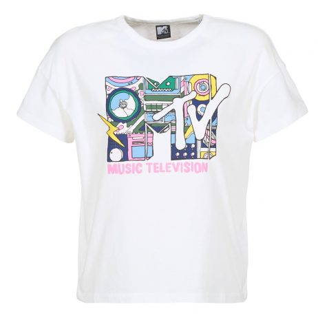 T-shirt donna Only  MTV  Bianco Only 5713734161026