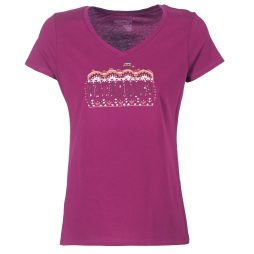 T-shirt donna Patagonia  W's Femme Fitz Roy Cotton V-Neck T-Shirt Patagonia 190696117080