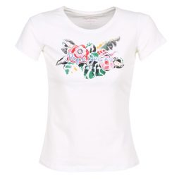 T-shirt donna Pepe jeans  ADIE  Bianco Pepe jeans 8434538415395