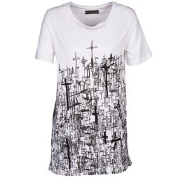 T-shirt donna Religion  B123CND13  Bianco Religion 5052894183920