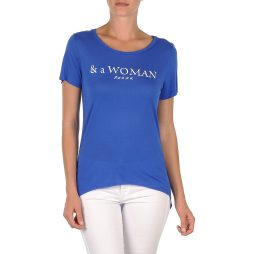 T-shirt donna School Rag  TEMMY WOMAN  Blu School Rag 3607192579023