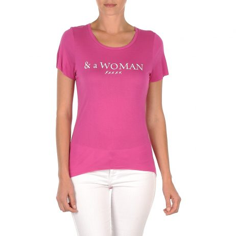 T-shirt donna School Rag  TEMMY WOMAN  Rosa School Rag 3607192413983