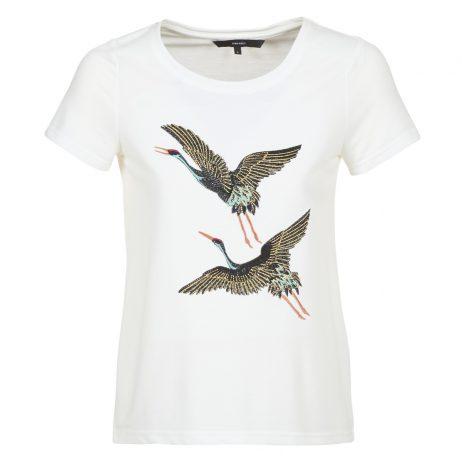 T-shirt donna Vero Moda  VMJUSTINE  Bianco Vero Moda 5713732057710