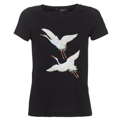 T-shirt donna Vero Moda  VMJUSTINE  Nero Vero Moda 5713732057772