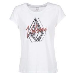 T-shirt donna Volcom  RADICAL DAZE T  Bianco Volcom 889623981060