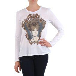 T-shirts a maniche lunghe donna Brigitte Bardot  BB43114  Bianco Brigitte Bardot 3554803677442