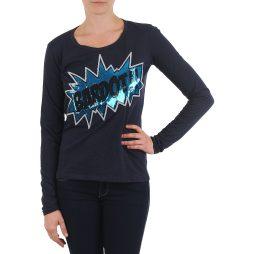 T-shirts a maniche lunghe donna Brigitte Bardot  BB43130  Blu Brigitte Bardot 3554803678166