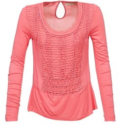 T-shirts a maniche lunghe donna Cream  KAREN  Rosa Cream 5712430174576