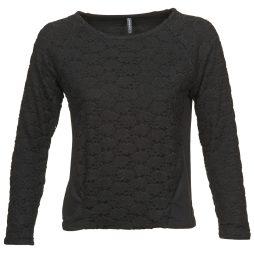 T-shirts a maniche lunghe donna Naf Naf  OEVERY  Nero Naf Naf 3606844967287