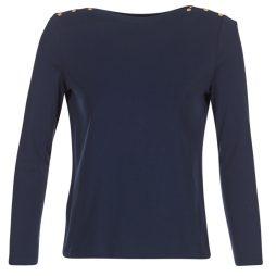 T-shirts a maniche lunghe donna Petit Bateau  BOULDE  Blu Petit Bateau 3102273545596