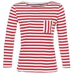 T-shirts a maniche lunghe donna Petit Bateau  DOURU  Rosso Petit Bateau 3102273539885