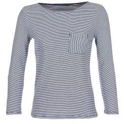 T-shirts a maniche lunghe donna Petit Bateau  LOZER  Blu Petit Bateau 3102273145628