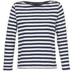 T-shirts a maniche lunghe donna Petit Bateau  MOURDE  Bianco Petit Bateau 3102273541932